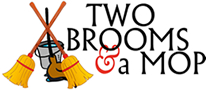 Two Brooms and a Mop Logo